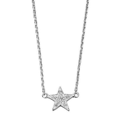 Cubic Zirconia Star Pendant - N3241C