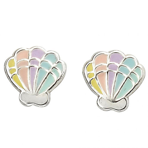 Rainbow Shell Earrings - A2054