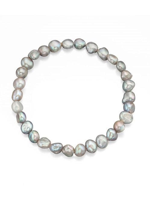 Pearl Grey Bracelet - B113