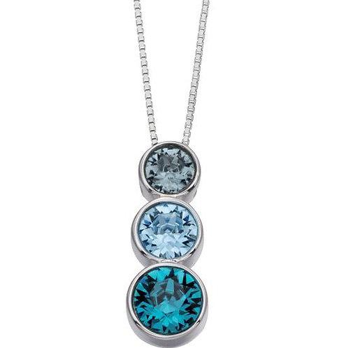 Silver Triology Pendant - P4277