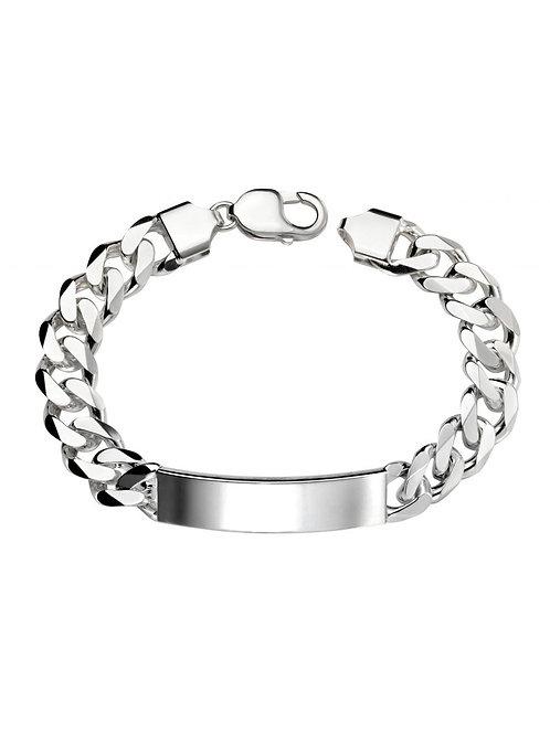 Silver Identity Bracelet - B4933