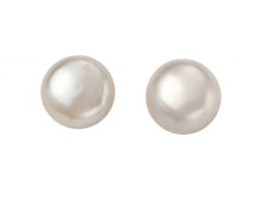 Freshwater Pearl White Stud Earrings - E5370W