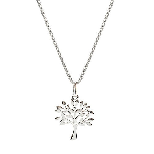 Silver Tree of Life Pendant - VPS-2154