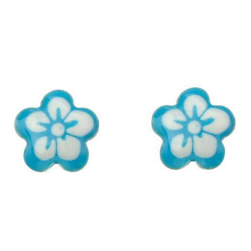 Silver Forget Me Not Earrings - A2041T