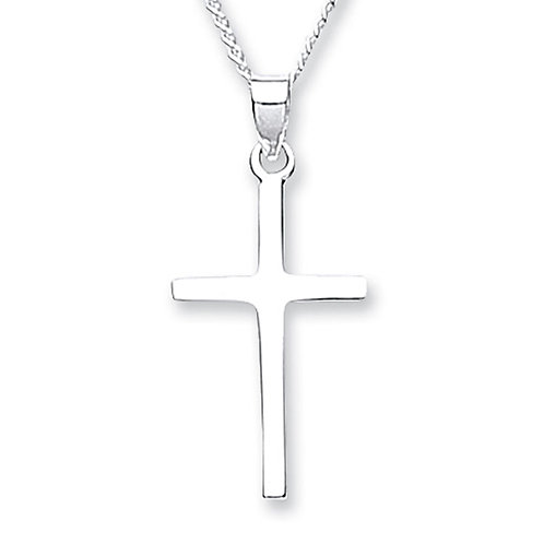 Silver Cross Pendant - 4208-3