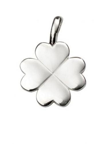 Silver Four Leaf Clover Pendant - P4765