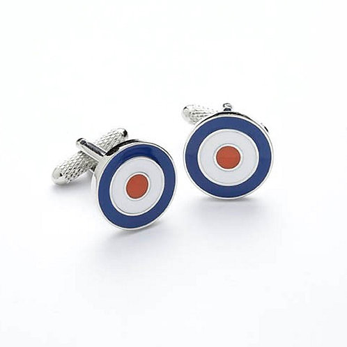 RAF Roundel Cufflinks - CK187