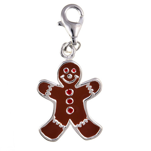 Gingerbread Man Charm - BU7008