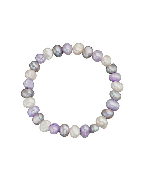 Pearl Multi-Coloured Bracelet - B118