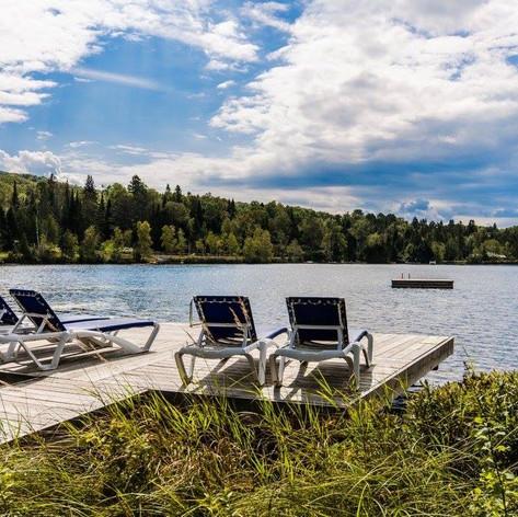 Baignade au lac Supérieur