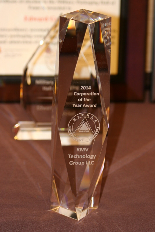 RMV Technology Group 2014 Corporate Award