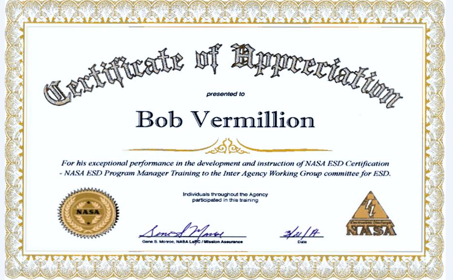 2014 NASA Award