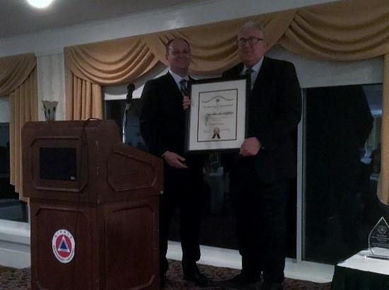 Bob Vermillion, Recipient of James A. Russell Lifetime Achievement Award