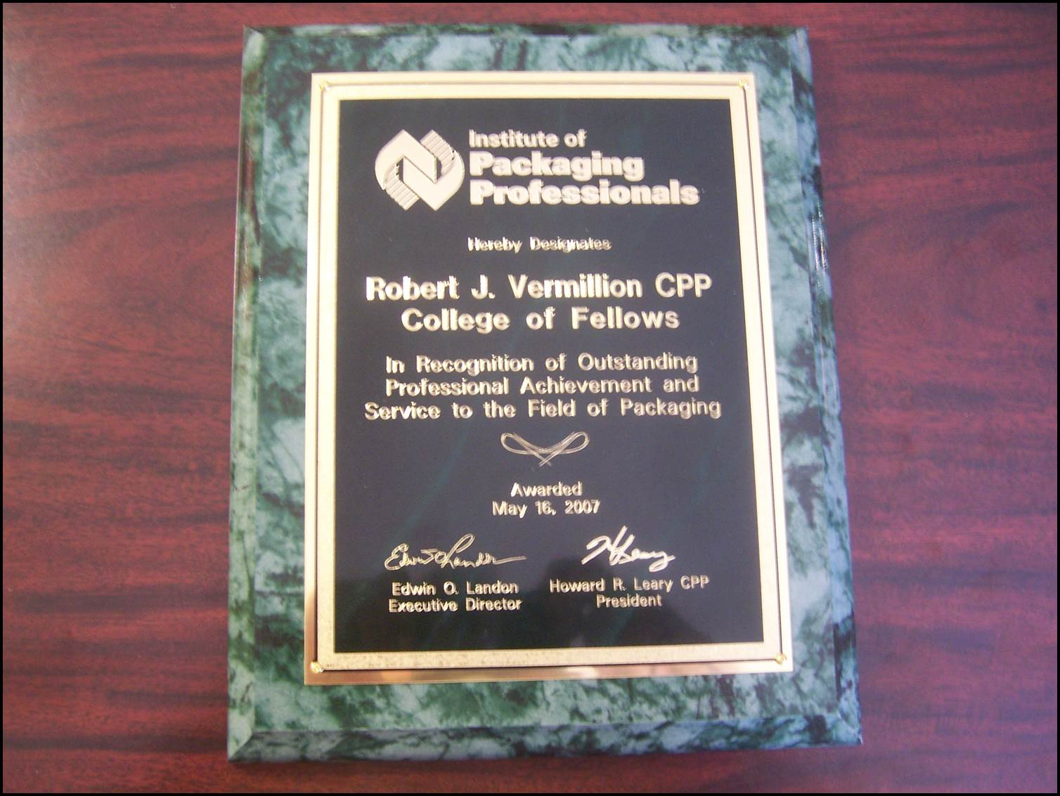 IOPP Award.Fellows