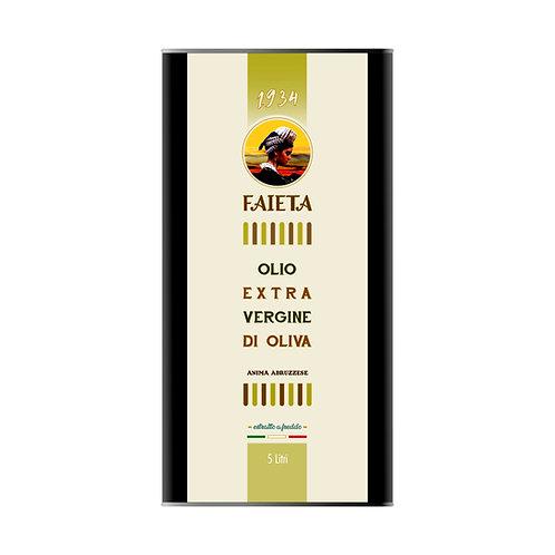 Lattina da 5 litri di Olio extravergine di oliva