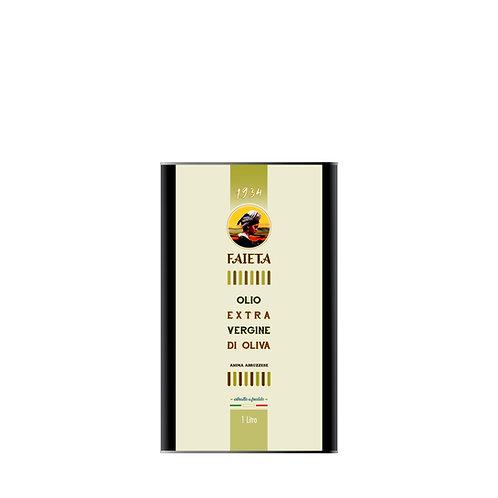 Lattina da 1 litro di Olio extravergine di oliva