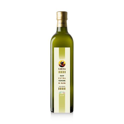 Bottiglia da 0,75 litri di Olio extravergine di oliva