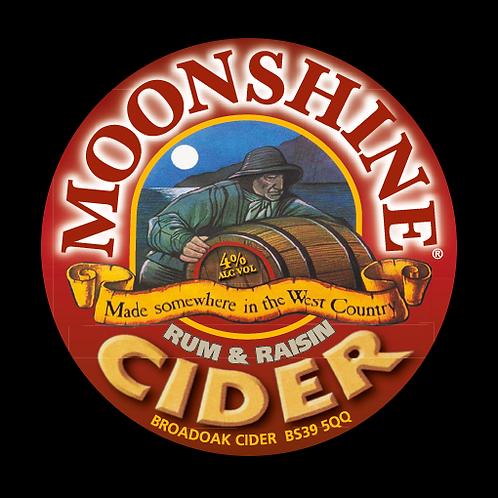 Broadoak Moonshine Rum and Raisin Cider Bag-in-Box