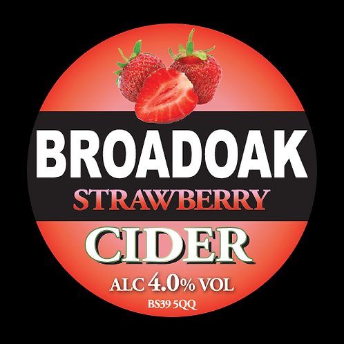 Broadoak Strawberry Cider Bag-in-Box