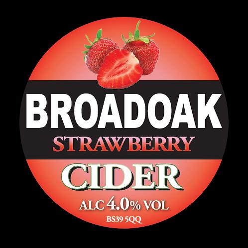 Broadoak Strawberry Cider Bag-in-Box