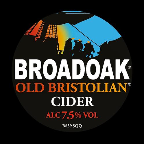 Broadoak Old Bristolian Cider Bag-in-Box