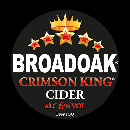 Broadoak Crimson King Cider Bag-in-Box