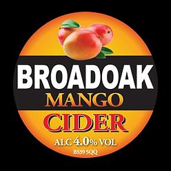 Brodoak Mango cider
