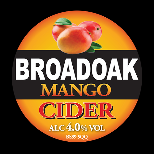 Broadoak Mango Cider Bag-in-Box