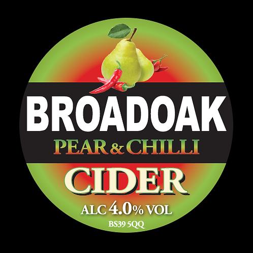 Broadoak Pear and Chilli Cider Bag-in-Box