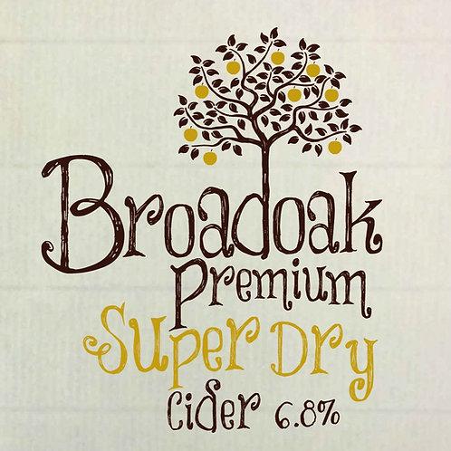 Broadoak Premium Super Dry 500ml (pack of 8)