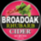 Broadoak Rhubarb cider