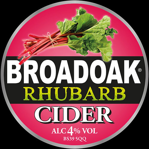 Broadoak Rhubarb Cider Bag-in-Box