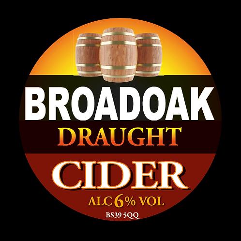 Broadoak Draught Cider Bag-in-Box