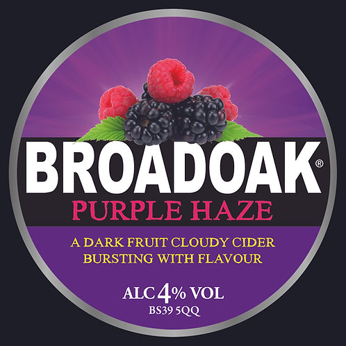 Broadoak Purple Haze Cider Bag-in-Box