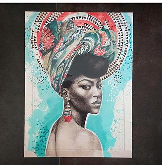 Posters de l'illustratrice Stéphanie Ledoux