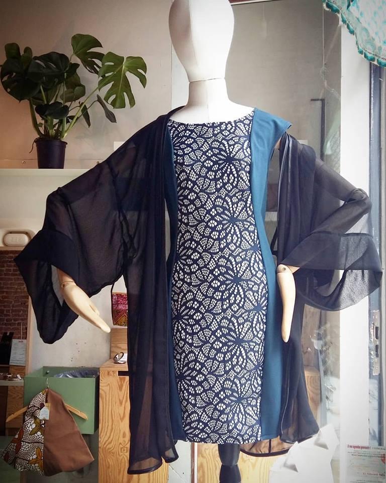 Kimono et robe Sarah