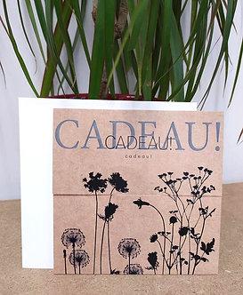 Bon cadeau Atelier/boutique Blush