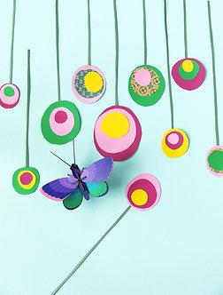 Papillon kit déco 3D