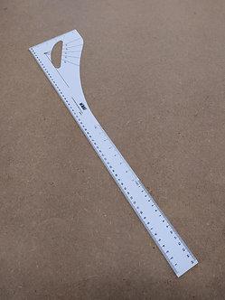 Latte 60cm + angle droit et courbes