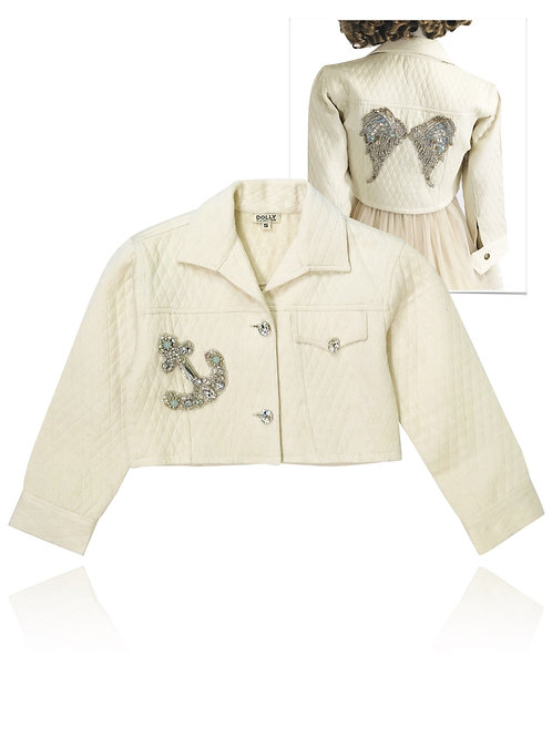 DOLLY by Le Petit Tom ® BOHO angel jacket