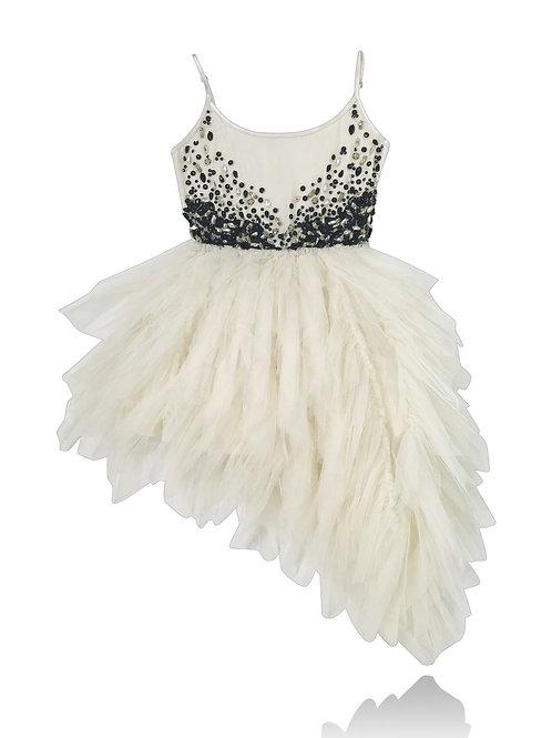 JEWELER'S CRYSTALS Onyx tutu dress