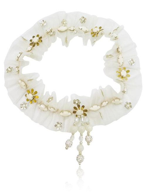 DOLLY by Le Petit Tom ® BOHO headband diamond ball beads ONE SIZE ( all ages) /