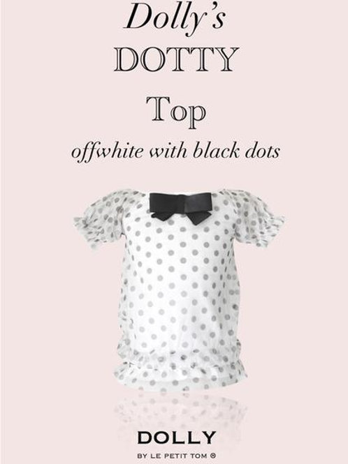 DOLLY by Le Petit Tom ® Dotty top