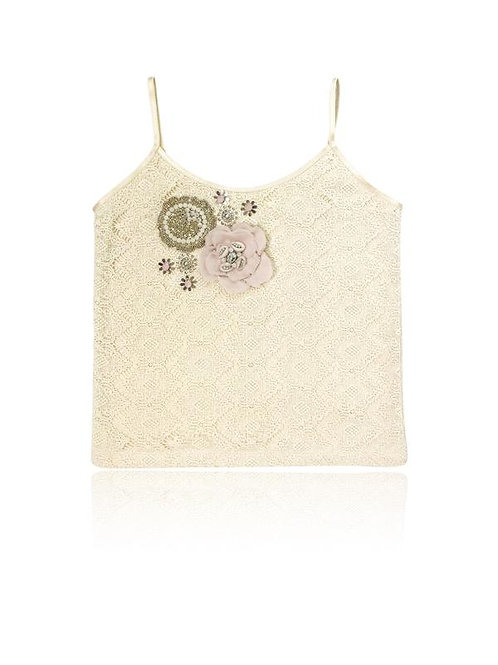 DOLLY by Le Petit Tom ® BOHO flower top