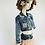 Thumbnail: DOLLY by Le Petit Tom ® ANGELS star angel denim jacket