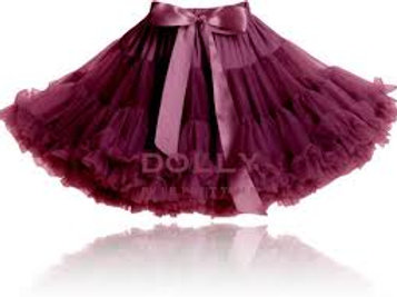 DOLLY BY LE PETIT TOM ® SUPER WOMAN aubergine
