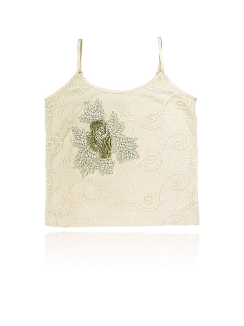 DOLLY by Le Petit Tom ® BOHO pearl top
