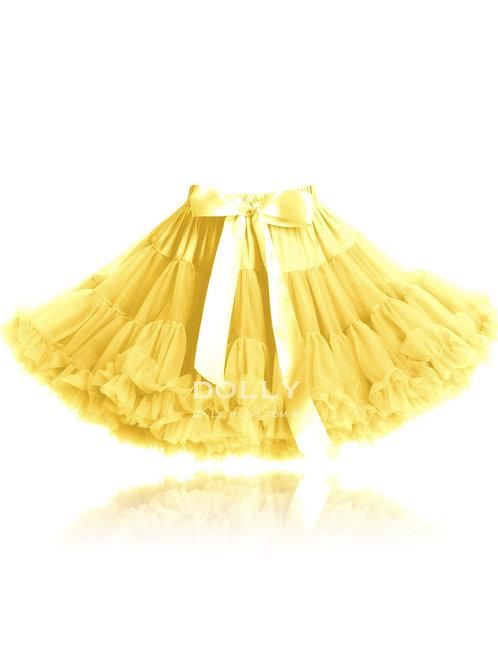 DOLLY by Le Petit Tom ® RUMPEL STILTSKIN PETTISKIRT yellow