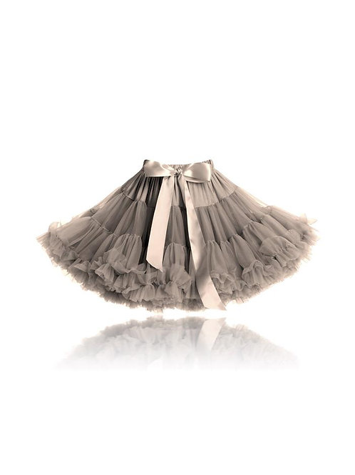 DOLLY BY LE PETIT TOM ® LITTLE MERMAID PETTISKIRT taupe