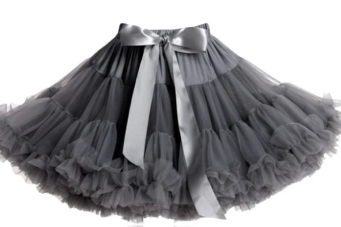 DOLLY BY LE PETIT TOM ® PRINCESS AND THE PEA dark grey